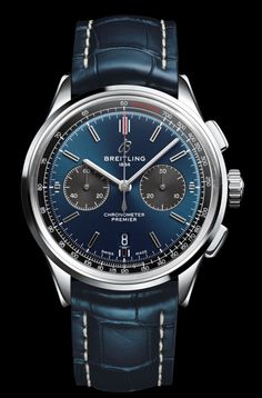 TimeZone : Industry News » N E W M o d e l s - Breitling Premier Collection