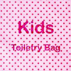 b8956ed0242f 8 Best Kids Toiletry Bag images in 2019 | Baby bags, Cosmetic bag ...