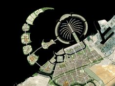 Office for Metropolitan Architecture have completed the masterplan for Waterfront City, a new city proposed for Dubai. Dubai Waterfront, Palm Island Dubai, Happy City, Dubai City, Dubai Uae, Dubai Travel, Amazing Buildings, Rem Koolhaas, New City