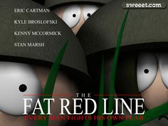 #SouthPark The Fat Red Line LOL!