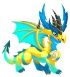 Pure flame dragon