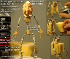 Build Up puppet - by Nick Hilligoss