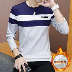 Sleeve Length(cm): ShortThickness: StandardClosure Type: NoneSleeve Style: RegularCollar: O-NeckStyle: CasualMaterial: AcetateClothing Length: LongPattern Type: SolidHooded: NoDetachable Part: NoneType: RegularGender: MenItem Type: Sweatshirts Male Sweaters, T Shirt Painting, T Shirt World, Casual Wear For Men, Short Sleeves, Long Sleeve, Mens Sweatshirts, Men Dress, Mens Tops
