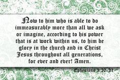 """Tim Tebow tweet (December 30, 2012)  """"Ephesians 3:20 """""""