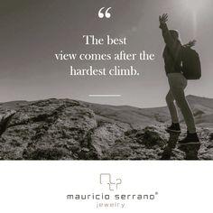 BEST Views come after a great Climb!Happy Monday #ATrueJewel Feliz Lunes #UnaVerdaderaJoya mauricioserrano.com