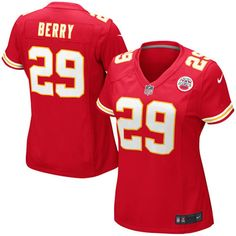 Eric Berry Kansas City Chiefs Nike Womens Game Jersey - Red