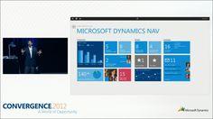 Looking beyond NAV 2013, a Metro app for Dynamics NAV shown at #CONV12