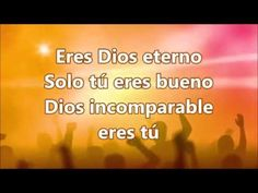 DIOS INCOMPARABLE - YouTube Youtube, Christians, Bible, Christian Music, Musica, Youtubers, Youtube Movies