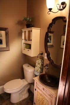 Power Broker Episode 108 Farmhouse Chic Powder Room