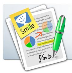 PDFPen — I use it to sign scanned documents, but it can do lots more than that.