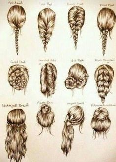 Simple braided #hairstyles, Pretty !    More hairstyles @ wonderfuldiy.com/?s=hairstyle