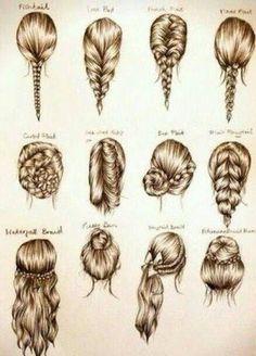 Simple braided #hairstyles, Pretty !    More hairstyles @ wonderfuldiy.com/?s=hairstyle