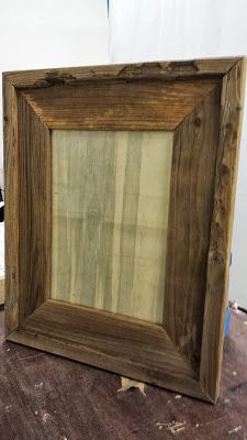 DIY Barn Wood Frames