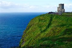 At 702 feet above sea level the Cliffs of Moher stretch 8 miles along the Atlantic coast.  Colby Bjornsen took this incredible photo during a trip to the Emerald Isle. Colby is an ISA Featured Photo Blogger who studied in Prague this fall.  #isaabroad #isaeurope #isaireland #discoverireland #studyabroad #theworldawaits #travel #ireland #cliffsofmoher by isaabroad