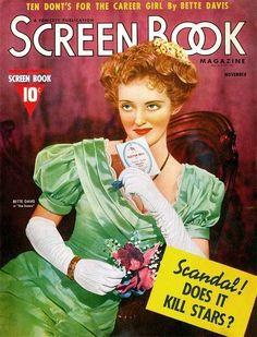 Bette Davis - Screen Book. Nov.