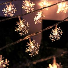 7 colors   3m 30 leds Battery Operated  Snowflake  icicle LED Festival  Christmas Wedding Light String Decoration  Light-in LED String from Lights & Lighting on Aliexpress.com   Alibaba Group