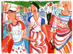 EDEL RODRIGUEZ ILLUSTRATION: CHANEL IN CUBA
