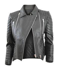 a228fc9f03e5f Biker Leather Jacket - Black - Elliott Label - Australian Label   bikerjacket  essential