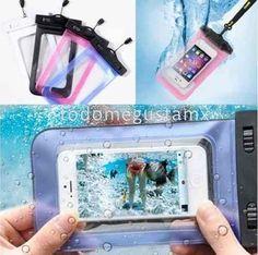 estuche protector sumergible prueba de agua para celular