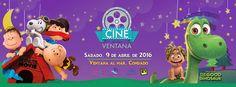 Cine en la Ventana: Abril 2016 #sondeaquipr #cineenlaventana #paralosninos #ventanaalmar #condado #sanjuan