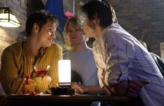 Gale Harold as Brian, Peter Paige as Emmett & Randy Harrison as Justin on Queer as Folk