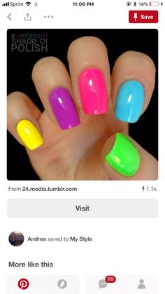 A Different Shade Of Polish Photo Nails In 2018 Pinterest