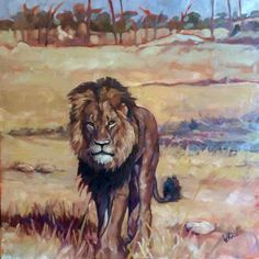 a tribute. Oil on canvas x Not just for Cecil, but for all animals and humans who are trafficked, poached, trophy hunted and otherwise enslaved for some (usually wealthy) person's self-entitled financial or egotistical gain. Trophy Hunting, Zimbabwe, Animal Rights, Impressionist, Gain, Oil On Canvas, Street Art, Artist, People