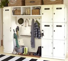 MUDROOM / ENTRANCE / POOL HOUSE - Modular Family Locker Entryway System | Pottery Barn