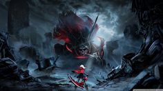 God Eater Rage Burst Video Game HD desktop wallpaper