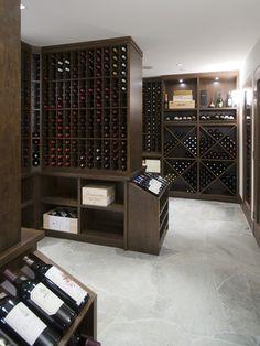 Wine Cellar, Modern Wine Cellar, Vancouver