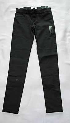 Girls abercrombie Kids Dark Gray Jeans Size16 Slim New withTags Free Shipping Starting Bid $19.99