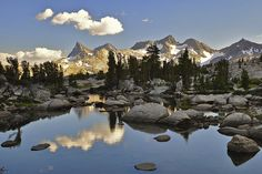 Ansel Adams Wilderness, Sierra Nevada, California, USA - Beautiful Places to Visit Fine Art Prints, Framed Prints, Canvas Prints, Big Canvas, Framed Wall, Ansel Adams Wilderness, Hubert Reeves, John Muir Trail, Wild Nature
