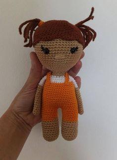 Molly  Crochet doll