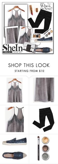 """STREET STYLE"" by tamarasimic ❤ liked on Polyvore featuring Charlotte Tilbury, Bardot, Miu Miu, Bare Escentuals, Hermès and shein"