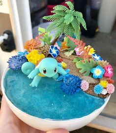 Excited to share this item from my shop: Squirtle tropical beach Pokémon pokeball terrarium Pokemon Room, Pokemon Craft, Cute Pokemon, Pokemon Terrarium, Anime Crafts, Cute Animal Drawings Kawaii, Crafts For Kids, Diy Crafts, Beautiful Fantasy Art