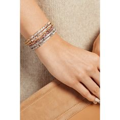 Suzanne Kalan 18-karat rose gold diamond cuff (497.740 RUB) via Polyvore featuring jewelry, bracelets, diamond jewellery, cuff jewelry, 18 karat gold jewelry, 18k bangle и suzanne kalan