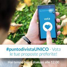 Ultime ore per votare! Che aspettate? www.puntodivistaunico.olimpiasplendid.it