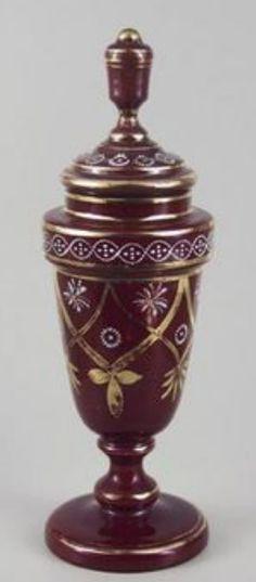 Czech glass Egermann - Nový Bor 1845