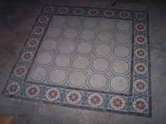 Ca. 1880, Germany. Mesa Bonita has been collecting hydraulic tiles for the past 10 years. All the tiles have been saved from the city dumpsters and desperately need a second life. They can be turned into a pretty table, console, nightstand, frame, trivet, coaster… Contact me for information, I have a wide selection of styles and colors and a whole bunch of ideas: Benedicte Bodard Mesa Bonita/Barcelona Tiles benedictebodard@gmail.com www.mesabonita.es https://www.pinterest.com/bbodard/