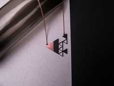 VII. [COPPER] You shall honor BFF code. Necklace / Size: 62 x 46,5mm
