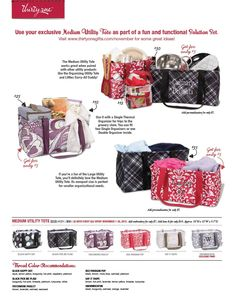 November Monthly Special! For every $35 you spend get a medium utility tote for only $7! mythirtyone.com/274257