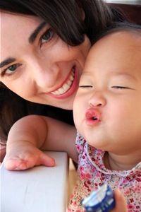 {Leslie Ludy & Harper Grace} Precious adoption story. - http://www.setapartgirl.com/harpergrace.html
