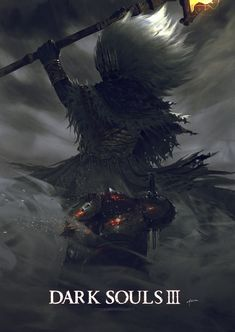 The Nameless King - Dark Souls 3 Dark Souls 3, Dark Souls 2 Bosses, Dark Fantasy, Fantasy Art, Soul Saga, Praise The Sun, Dark Blood, Happy Soul, Anime Meme