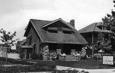 This photo of Cobblestone Lodge dates back to the mid 1930's. It was managed by Mrs. Harry Gracey as a tourist home along the once popular Highway No. 8.  Brothers James and Mark Murphy now own Murphy's Music which opened in 1992.Niagara Falls Public Library. Canada 150.