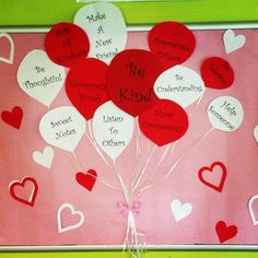 February Bulletin Board Have you been thinking about Valentines day bulletin board ideas for preschool or kindergarten? Glance through the best february bulletin board ideas here! February Bulletin Boards, Valentines Day Bulletin Board, Church Bulletin Boards, Valentines Day Activities, Valentines Day Party, Valentine Day Crafts, Interactive Bulletin Boards, Preschool Bulletin Boards, Kindness Bulletin Board