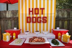 Want to make a hot dog stand for our beach themed party