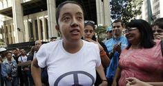 La diputada por la Mesa de la Unidad Democrática (MUD) Gaby Arellano, se declaró en huelga de hambre este jueves como medida de protesta para exigir la lib