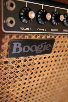 Mesa Boogie amplifier at Toast Studios, West London