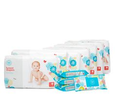 The Honest Company Diapers 1 month supply for 85 dollars