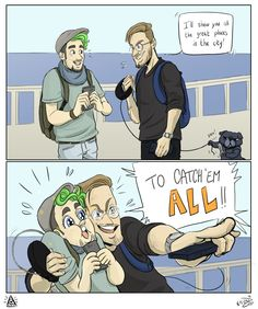 I love Edgar on the first panel :D But Jackaboy's face in the second one wins.